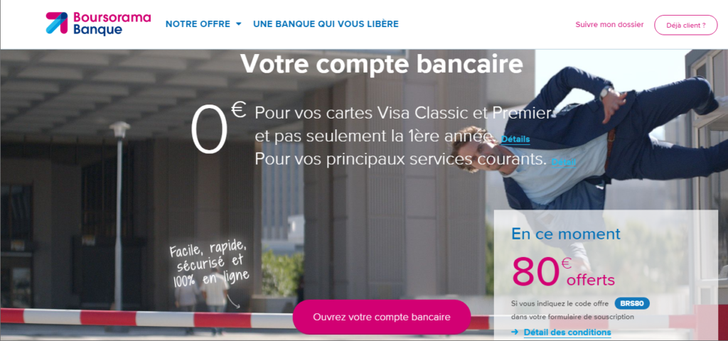 wholesale dealer 9199d a82ff Boursorama Banque, banque en ligne de la Société Générale
