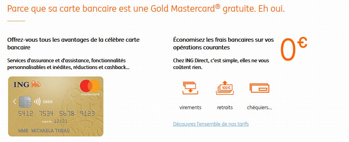 ING Sans conditions de revenus