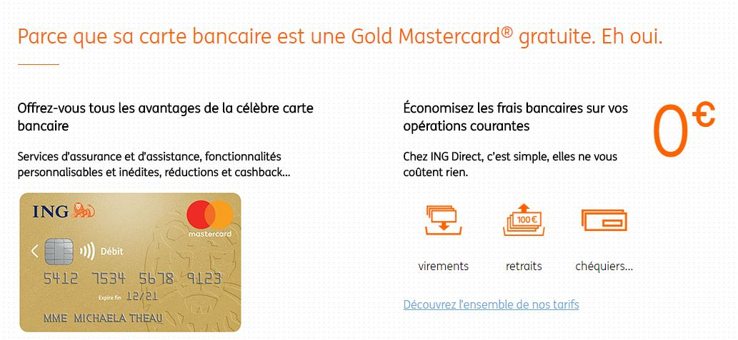 ING Direct Gold