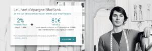 le livret d'épargne BforBank