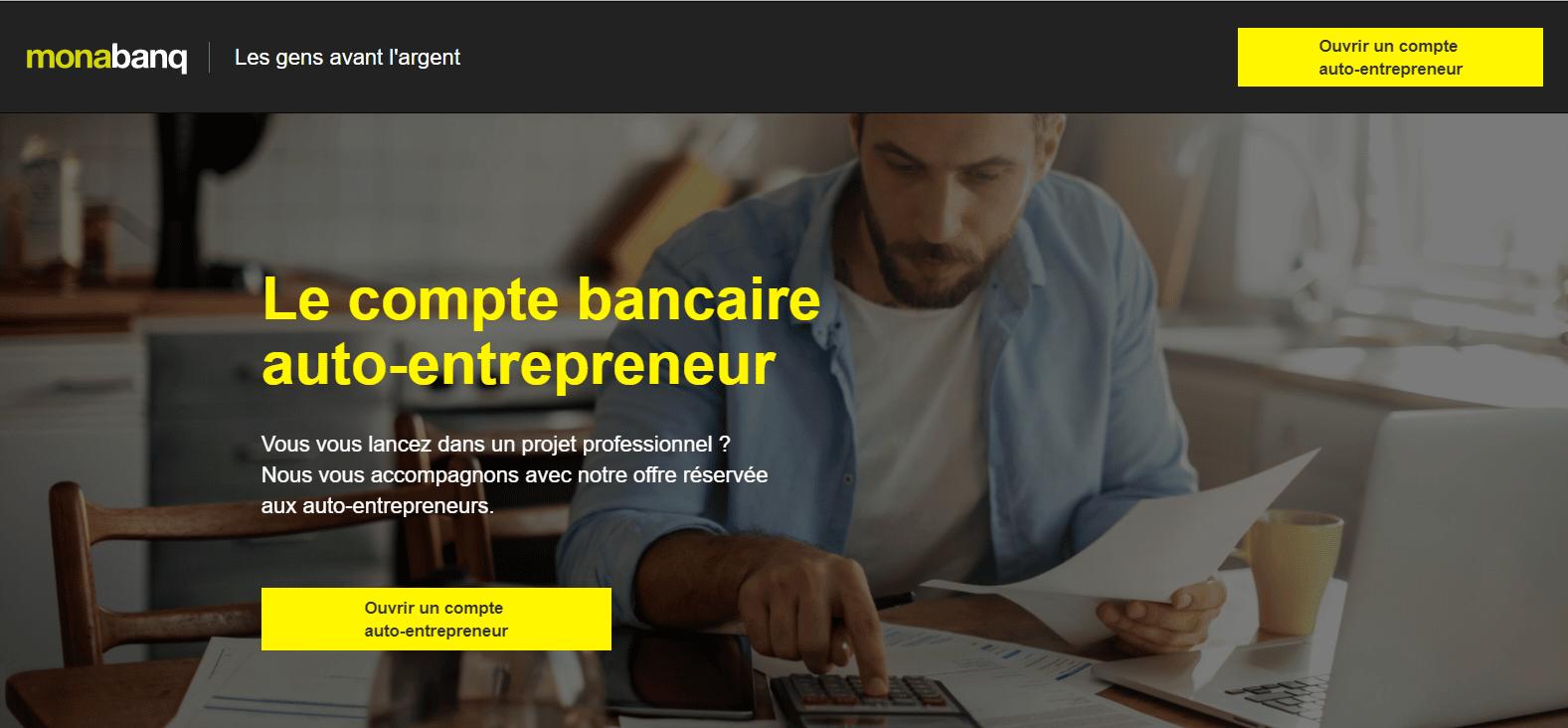 Comment ouvrir un compte Monabanq pour auto-entrepreneur ?