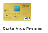 carte visa Premier Hello Bank