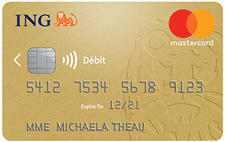 La Gold MasterCard d'ING Direct