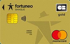L'offre de carte Gold gratuite de Fortuneo