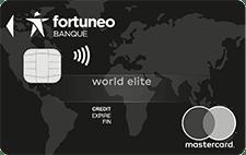 L'offre de carte World Elite de Fortuneo