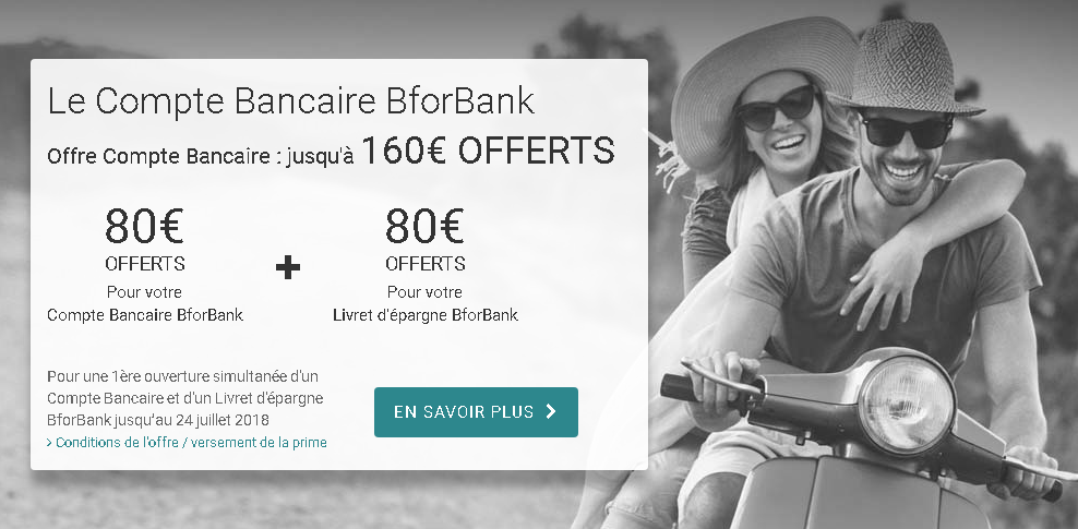 livret bancaire BforBank