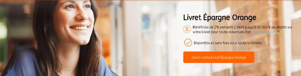 Le livret épargne Orange d'ING Direct