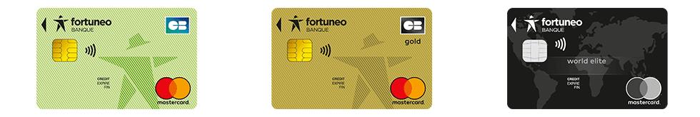 Cartes bancaires Fortuneo