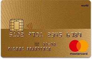 Gold MasterCard