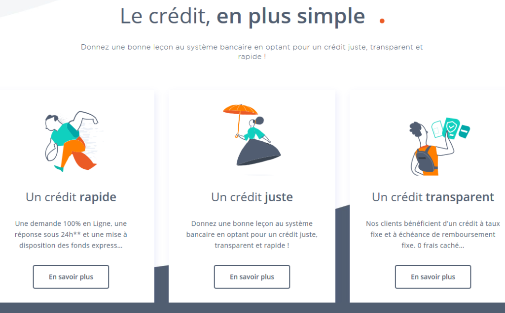 Les avantages de Younited Credit