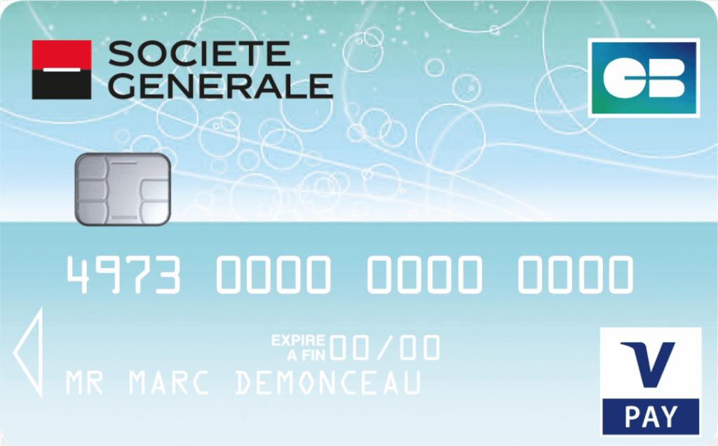 carte v pay société générale