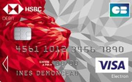 La carte Visa Electron de HSBC
