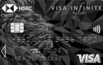 La carte Visa Infinite de HSBC