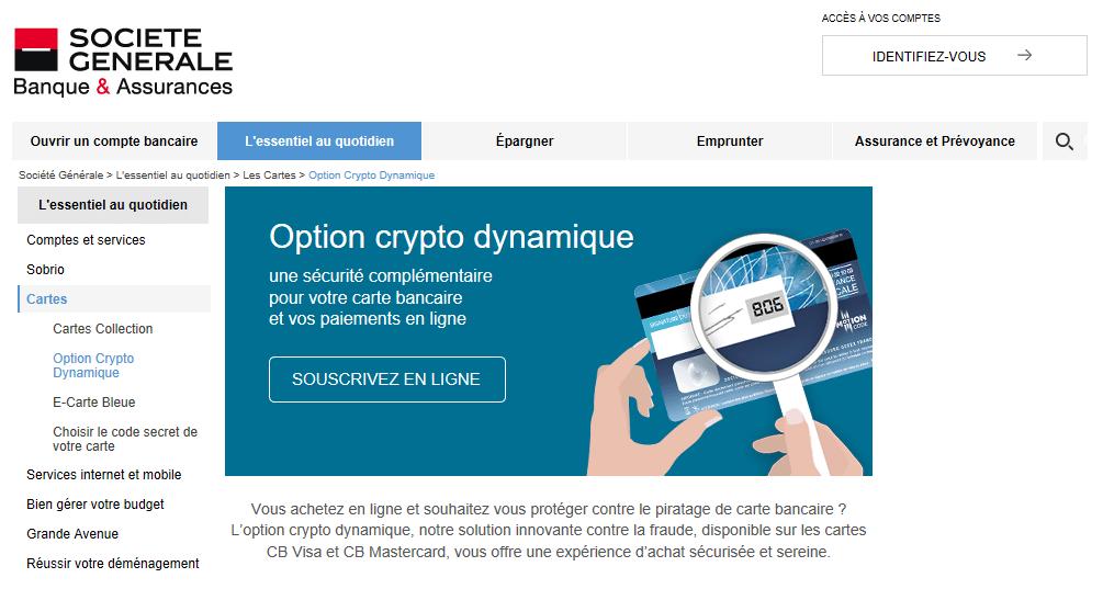 Option crypto dynamique société générale