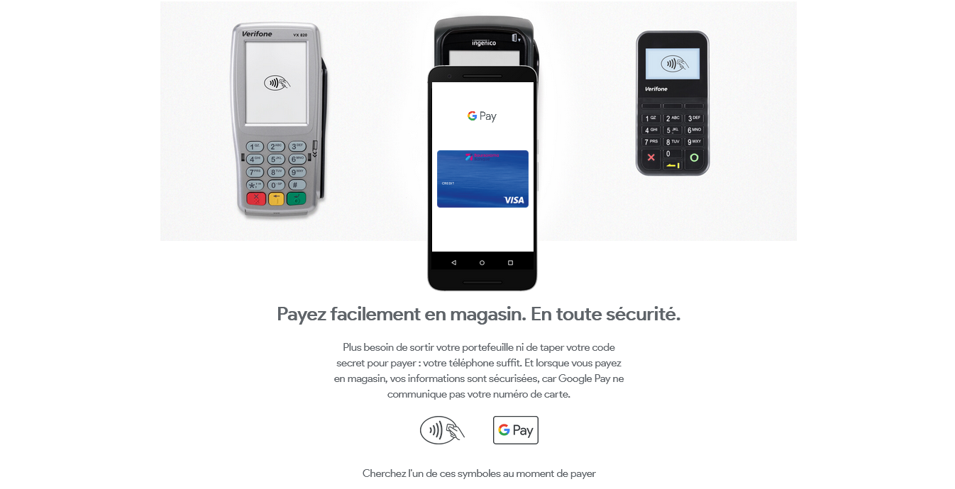 google pay magasin