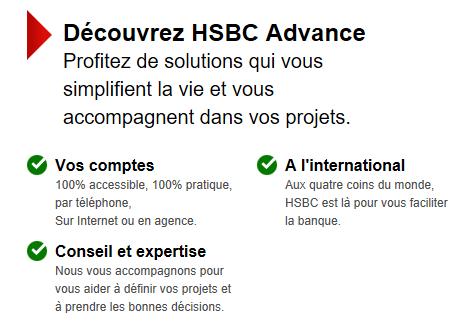 HSBC Advance : à qui s'adresse l'offre et comment souscrire ?