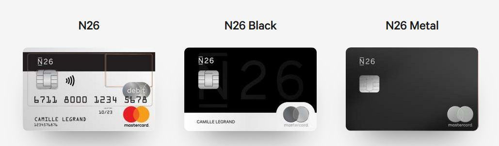 Carte N26 Black Retrait.N26 A Lire Avant D Y Ouvrir Un Compte
