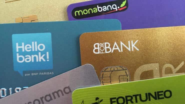 cartes bancaires banques en ligne