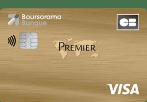 Carte visa premier Boursorama