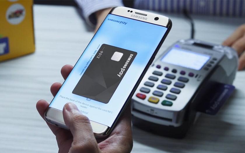 compatibilité samsung pay banque