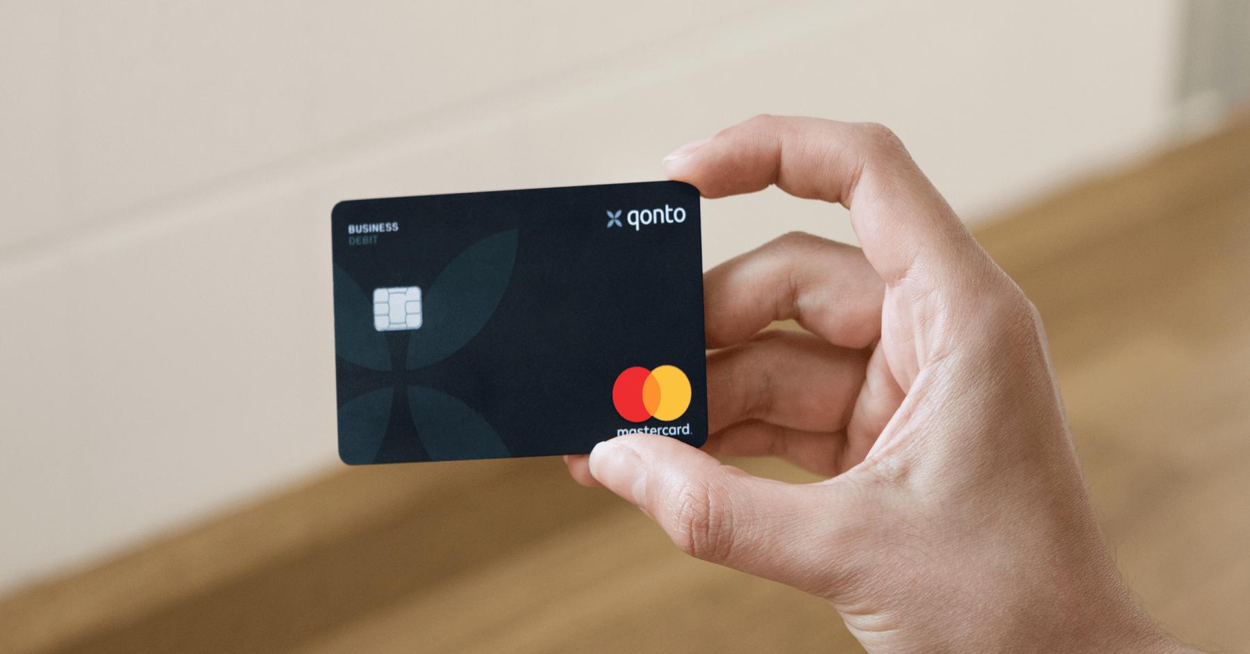 carte bancaire Qonto Mastercard
