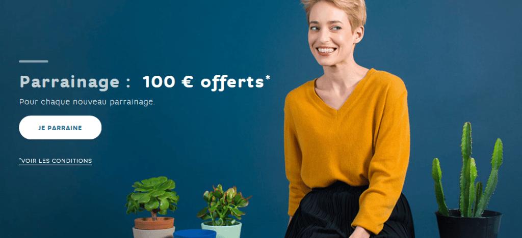 l'offre de parrainage de la banque en ligne Hello Bank