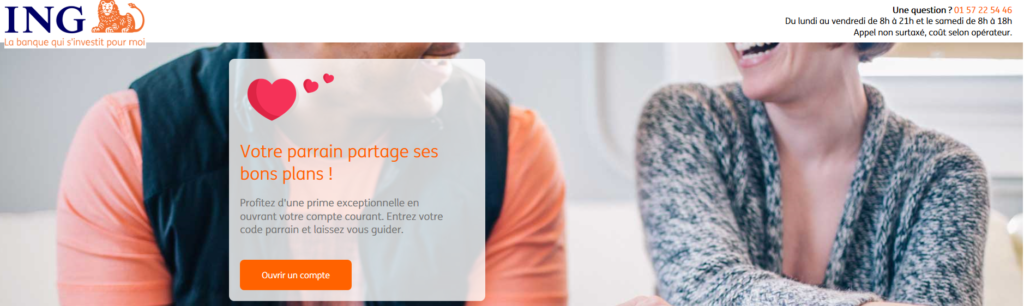 ing direct offre parrainage