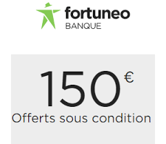 150€ de prime à l'ouverture d'une assurance vie Fortuneo