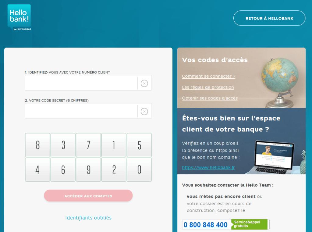 site internet hello bank