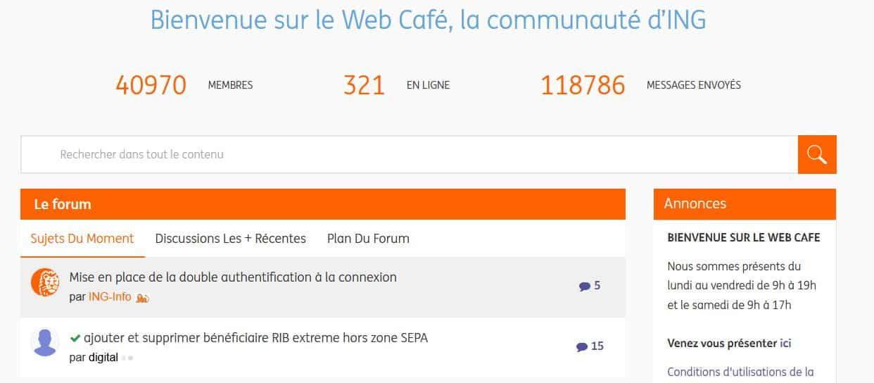 ING Web Café
