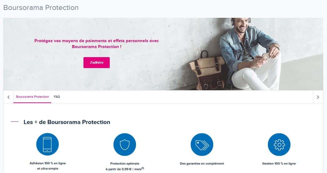 boursorama protection