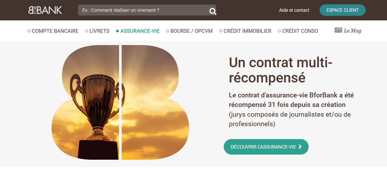 contrat bforbank vie multisupport