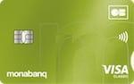 Avis carte banque en ligne Visa Classic Monabanq