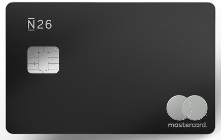 carte MasterCard Metal de N26