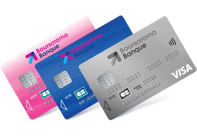carte bancaire Boursorama Visa Classic
