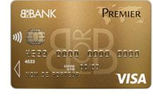 Carte bancaire Visa Premier de BforBank