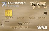 La carte bancaire Boursorama banque Visa Premier