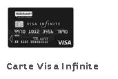 carte visa infinite Hello Bank