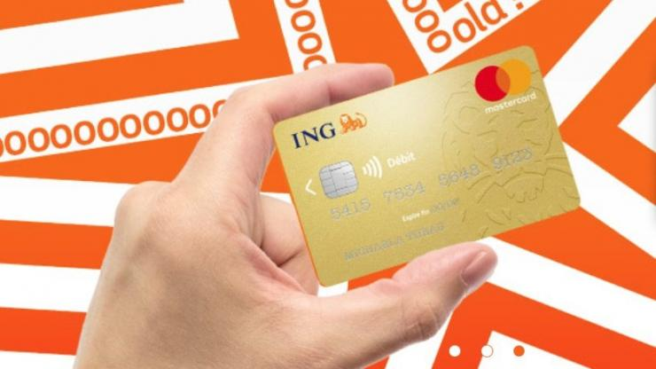 La carte bancaire d'ING Direct