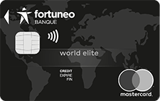 L'offre de carte World Elite de Fortuneo