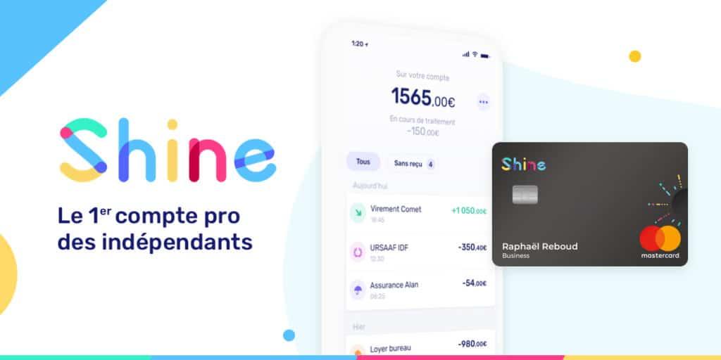 offre compte pro shine