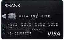 L'offre de carte Visa Infinite de BforBank