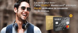 Carte bancaire prépayée gratuite Viabuy