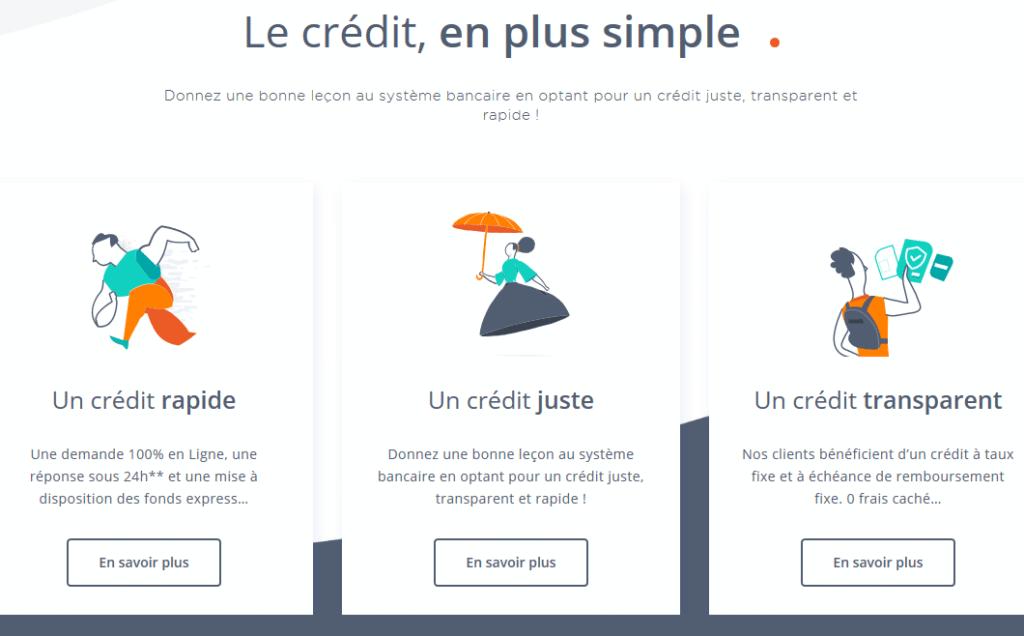 Les avantages de Younited Credit