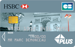 La carte Visa Plus de HSBC