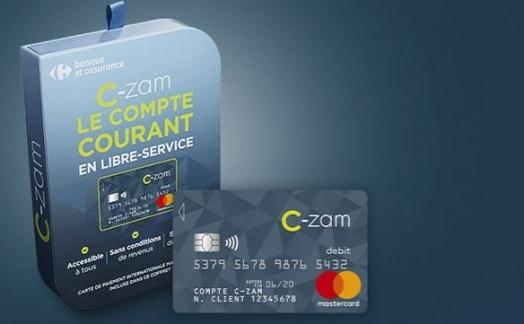 carte bancaire semi-anonyme C-Zam