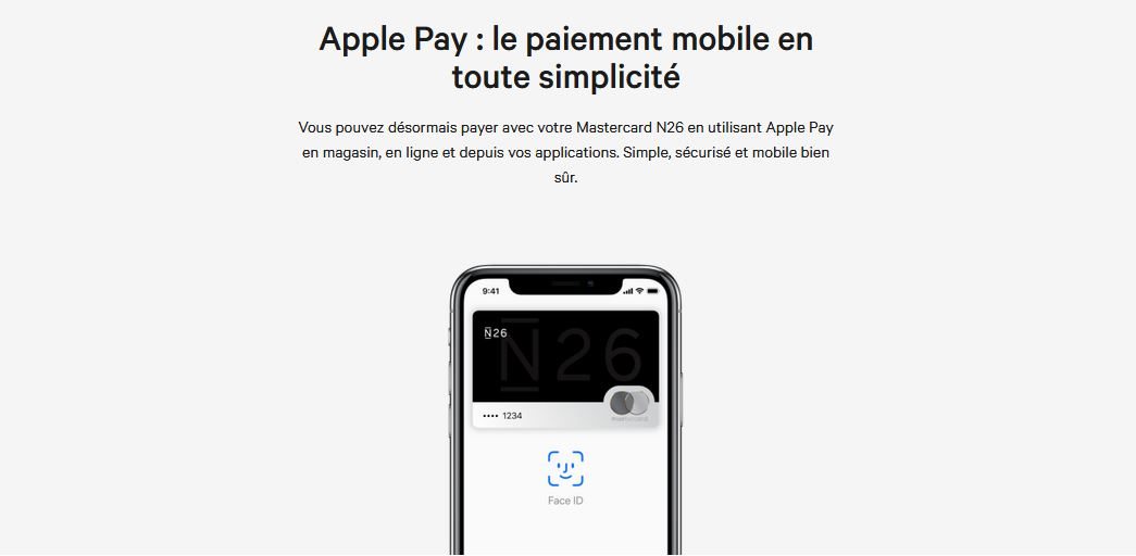 Solution de paiement mobile Apple Pay