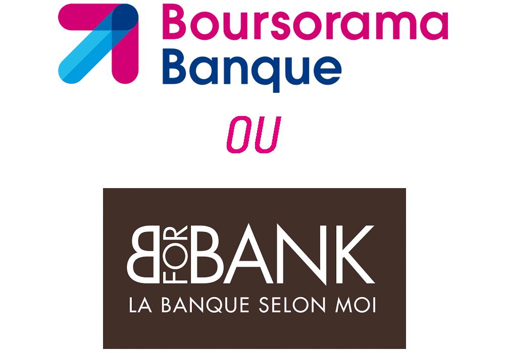 comparatif boursorama ou bforbank