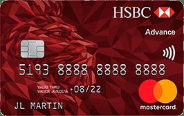 carte bancaire HSBC Advance