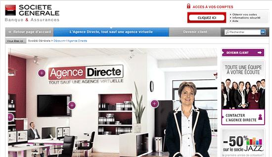 Agence directe société générale